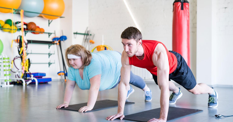 Efectos crónicos del entrenamiento a Fatmax sobre el peso corporal, la masa grasa y el fitness cardiorrespiratorio en pacientes obesos