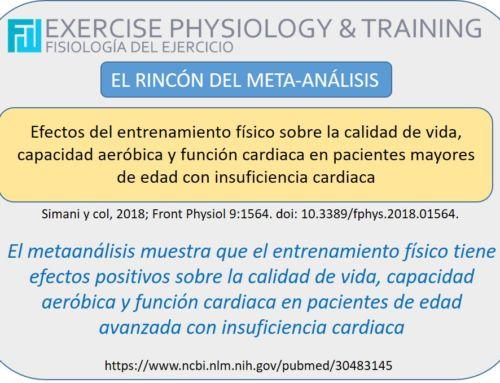 Efectos del entrenamiento físico sobre la calidad de vida, capacidad aeróbica y función cardiaca en pacientes mayores de edad con insuficiencia cardiaca