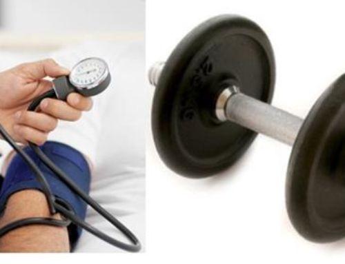 El ejercicio de fuerza disminuye la presión arterial en personas de edad avanzada